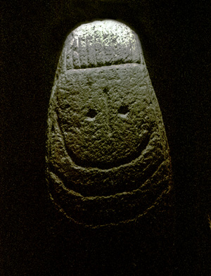 Cáceres Museum, neolithic stone
