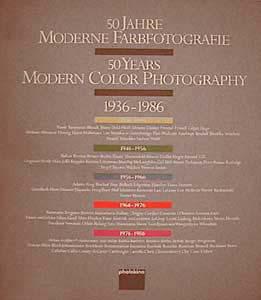 Manfred HEITING '50 Jahre moderne Farbfotografie 1936-1986. Katalog der Bilderschauen 1986