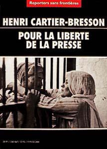 Henri CARTIER-BRESSON, 'Reporters sans Frontière'