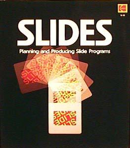 Slides, planning and producing slide programs'